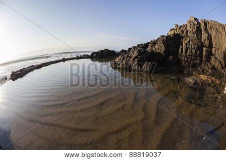 Tidal Pool Rocky Coastline