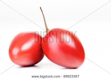 Studio shot of tamarrilo fruit