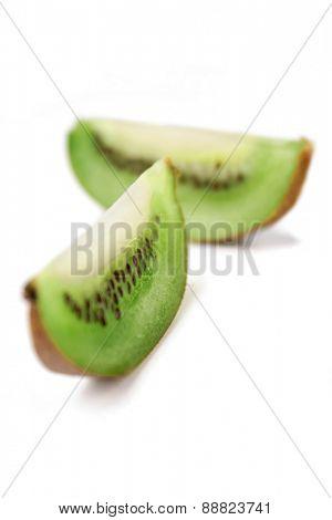 Kiwi on white background - stdio shot