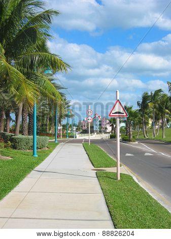 Bahamian Street Scene