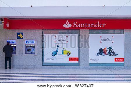 Banco Santander branch