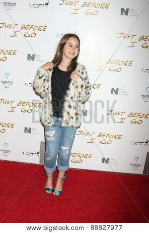 LOS ANGELES - FEB 20:  Coco Arquette at the
