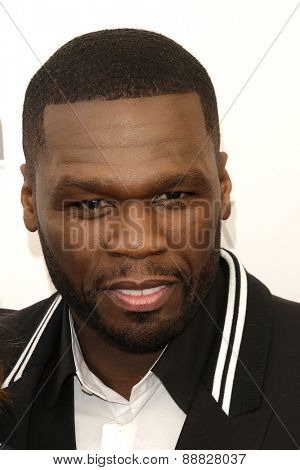 LAS VEGAS - APR 23: Curtis '50 Cent' Jackson at the Twentieth Century Fox 2015 Presentation at Cinemacon at Caesars Palace on April 23, 2015 in Las Vegas, NV