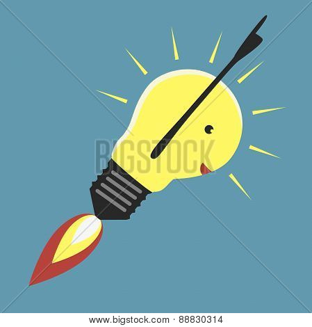 Jet-propelled Lightbulb