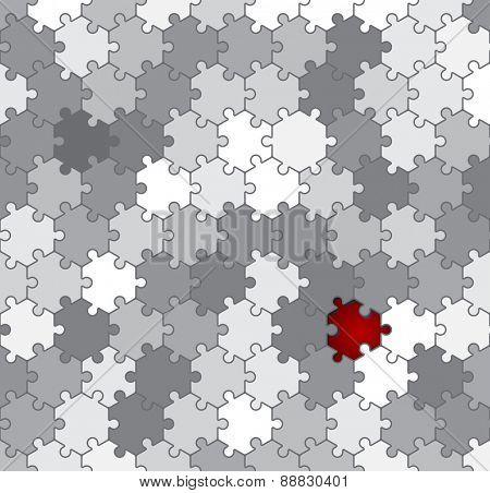 hexagon puzzle background