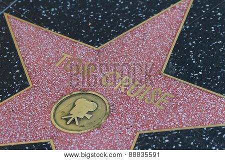 Tom Cruise's Hollywood Star