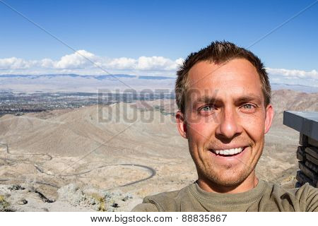 Selfie In The Desert