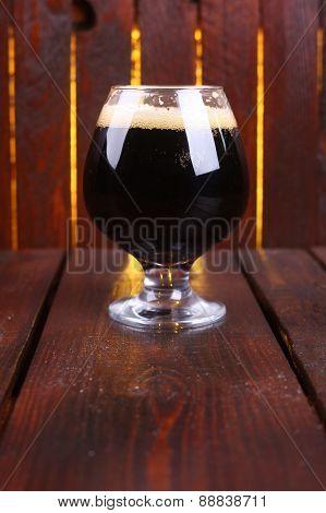 Glass Of Dark Stout