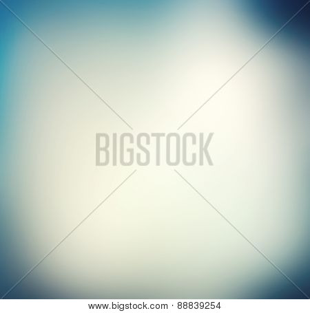 blue & white abstract background with radial gradient effect