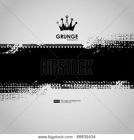background for poster in grunge minimalism style. Grunge print for t-shirt. Abstract background. Texture background. Abstract shape