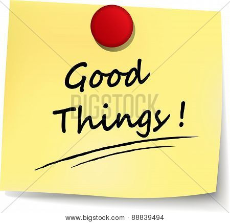 Good Things Note