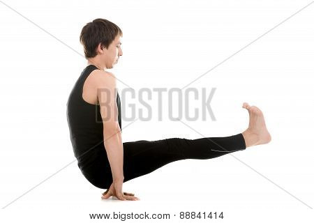 Floating Stick Asana