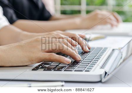 typing data