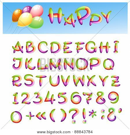 Happy Alphabet