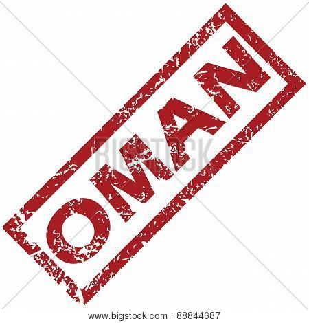 New Oman rubber stamp