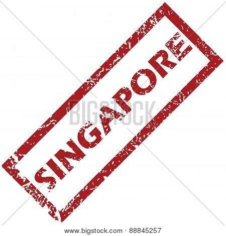 New Singapore rubber stamp