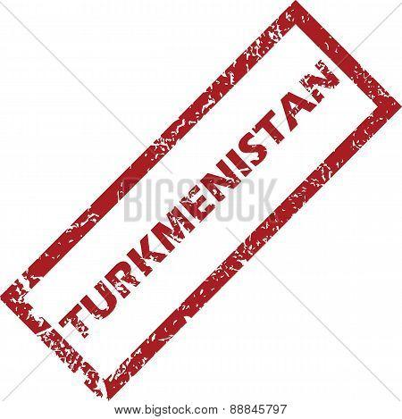 New Turkmenistan rubber stamp