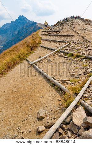 Path In Tatra Mountains