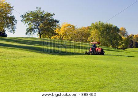 Mowing The Fairway