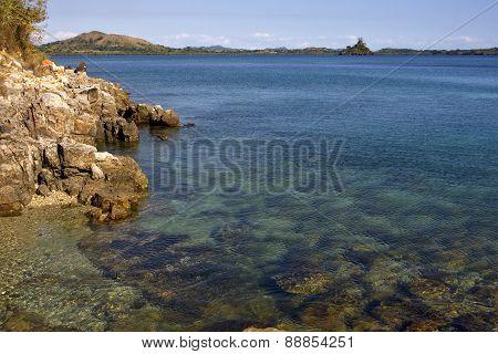 Coastline And Sand Kisimamy Bay