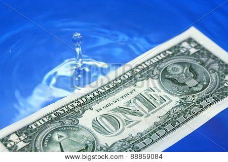 Sinking Dollar Usa