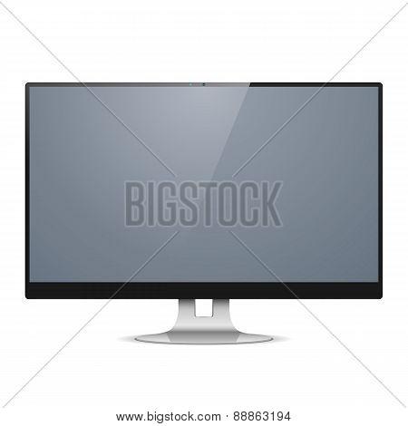 Vector Computer Monitor