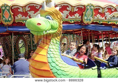 Riding The Dino Train