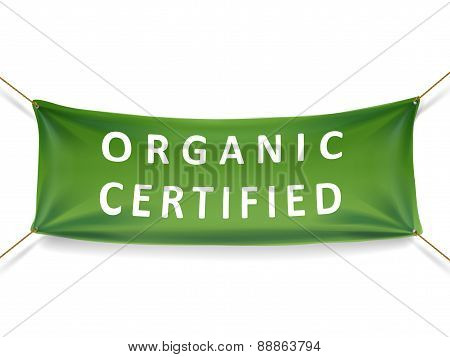Organic Certified Banner