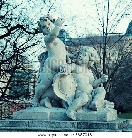 Angel Statue, Vienna