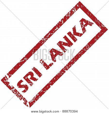 New Sri Lanka rubber stamp