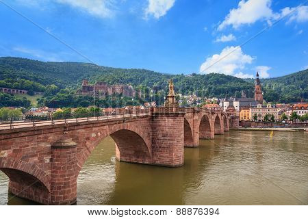 Heidelberg city Germany