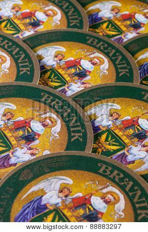 Beermats From Branik Beer