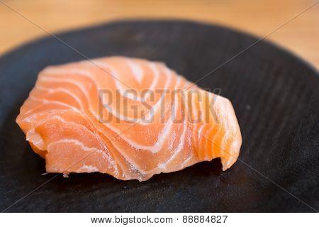 Fresh Salmon Sashimi