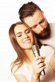 stock photo of karaoke  - Karaoke  - JPG