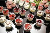 stock photo of catering  - dessert catering buffet - JPG