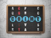 stock photo of crime solving  - Security concept - JPG