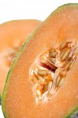 picture of melon  - Melon on white background  - JPG