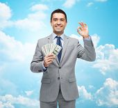 picture of american money  - business - JPG