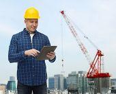 pic of construction crane  - repair - JPG