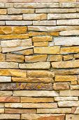 picture of untidiness  - untidy or uneven brick wall texture background - JPG