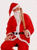 stock photo of truncheon  - santas christmas club do want to join - JPG