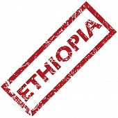 stock photo of ethiopia  - New Ethiopia grunge rubber stamp on a white background - JPG