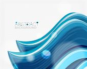 foto of solids  - Abstract realistic solid wave background - JPG