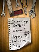 Постер, плакат: День отца