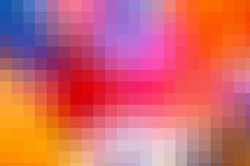 pic of pixel  - Large pixels colorful bright background - JPG