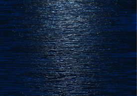 picture of moonlight  - Image of Moonlight reflecting on Water with ripple effect - JPG