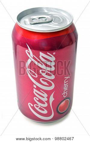 Coca-cola Cherry Soda Can