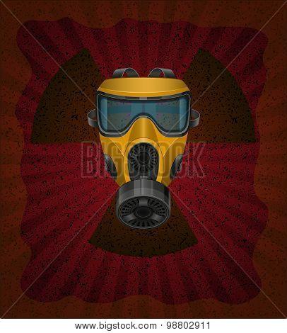 Concept Of Radioactive Contamination Vector Illustration