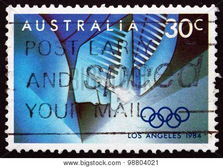 Postage Stamp Australia 1984 Event Stages