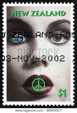 Postage Stamp New Zealand 1995 Nuclear Disarmament